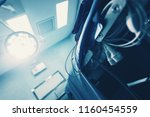 operating room for surgical... | Shutterstock . vector #1160454559
