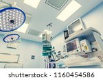operating room for surgical... | Shutterstock . vector #1160454586