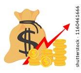 profit money . concept of...   Shutterstock .eps vector #1160461666