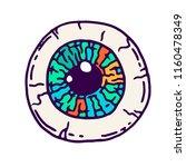 vector cartoon illustration of... | Shutterstock .eps vector #1160478349