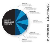 modern infographic choice... | Shutterstock .eps vector #1160490280