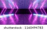 futuristic modern sci fi neon... | Shutterstock . vector #1160494783