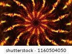 bright shining symmetric...   Shutterstock . vector #1160504050