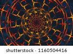 bright shining symmetric...   Shutterstock . vector #1160504416