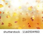 autumn abstract background.... | Shutterstock .eps vector #1160504983