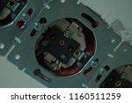 disassembled power socket.... | Shutterstock . vector #1160511259