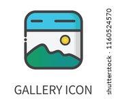 vector gallery icon...