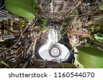aircraft's main landing gear... | Shutterstock . vector #1160544070