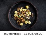 Prepared Mushrooms And Gnocchi...