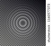 ripple effect top view.... | Shutterstock .eps vector #1160577373