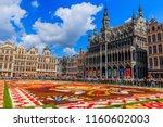 brussels  belgium    august 16  ... | Shutterstock . vector #1160602003