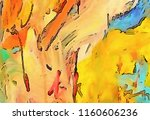 abstract background in warm... | Shutterstock . vector #1160606236