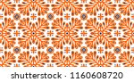 traditional vector ornament in... | Shutterstock .eps vector #1160608720