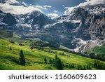 european landscape  alps ... | Shutterstock . vector #1160609623