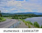 the road along the river and...   Shutterstock . vector #1160616739
