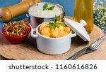 sweet potato strogonoff  ... | Shutterstock . vector #1160616826
