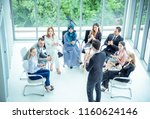 business people multiethnic... | Shutterstock . vector #1160624146