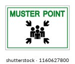 muster point symbol sign ... | Shutterstock .eps vector #1160627800