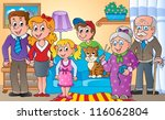 family theme image 2   vector...   Shutterstock .eps vector #116062804