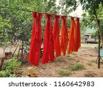 robe are hanging   Shutterstock . vector #1160642983