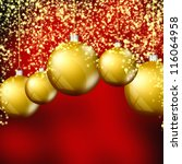 elegant christmas background | Shutterstock . vector #116064958