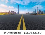 air highway asphalt road and... | Shutterstock . vector #1160652160