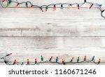 christmas lights bulb... | Shutterstock . vector #1160671246