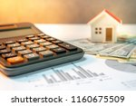 real estate or property... | Shutterstock . vector #1160675509