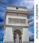 the triumphal arch  arc de... | Shutterstock . vector #116068696