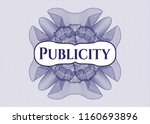 blue money style rosette with... | Shutterstock .eps vector #1160693896