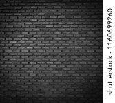 brick wall black background... | Shutterstock . vector #1160699260