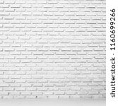 black and white old brick wall... | Shutterstock . vector #1160699266
