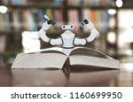 education arm industrial robot...   Shutterstock . vector #1160699950