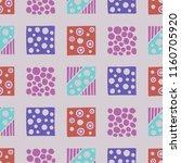 seamless pattern. geometrical... | Shutterstock . vector #1160705920