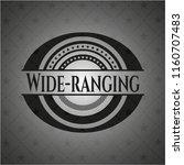 wide ranging black emblem | Shutterstock .eps vector #1160707483