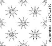hand drawn seamless pattern ... | Shutterstock . vector #1160711650