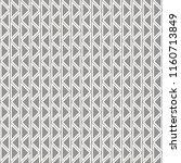 seamless abstract zig zag... | Shutterstock . vector #1160713849