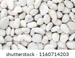 white pebbles stone texture and ... | Shutterstock . vector #1160714203