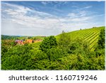 the village sasbachwalden in... | Shutterstock . vector #1160719246