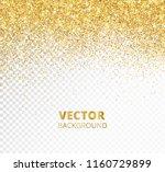 sparkling glitter border  frame.... | Shutterstock .eps vector #1160729899