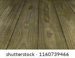old wooden plank background... | Shutterstock . vector #1160739466