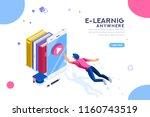 tutorial infographic ... | Shutterstock . vector #1160743519