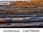 flysch of zumaia in the water... | Shutterstock . vector #1160748460