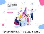 analyst  financial banner.... | Shutterstock .eps vector #1160754259