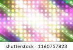 abstract multicolored football... | Shutterstock . vector #1160757823
