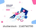 exam or college research.... | Shutterstock .eps vector #1160760700