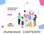 creative income planning for... | Shutterstock .eps vector #1160762653