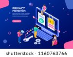 infographic  banner with hero... | Shutterstock .eps vector #1160763766