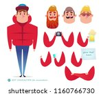 boy character for your scenes... | Shutterstock .eps vector #1160766730
