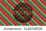 athlete christmas colors style...   Shutterstock .eps vector #1160768200